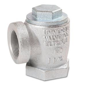 Model 401 - Angle Check Valve for Suction System