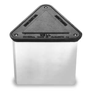 Model 65TE - Triangular Bolted Monitoring Manhole